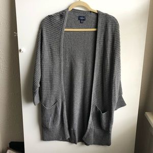 American Eagle Gray Cardigan / Medium
